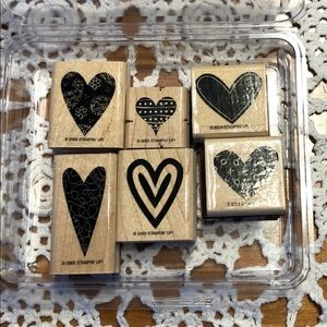 🍒 Stampin' Up! 🍒 « Happy Heart » Stamps Set